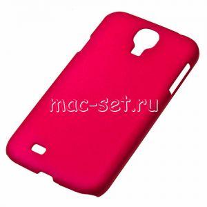 Чехол-накладка пластиковый для Samsung Galaxy S4 I9500 (малиновый)