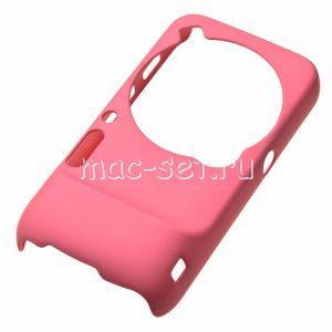 Чехол-накладка пластиковый для Samsung Galaxy S4 Zoom C101 (розовый)