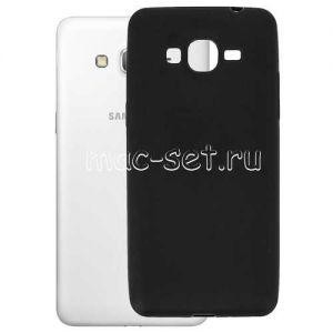 """Чехол-накладка силиконовый для Samsung Galaxy Grand Prime G530 / G531 """"Mate"""" (черный)"""