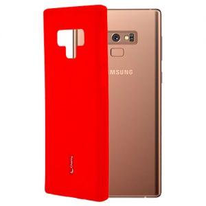 Чехол-накладка силиконовый для Samsung Galaxy Note 9 N960 (красный) Cherry