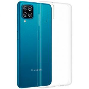 Чехол-накладка силиконовый для Samsung Galaxy A12 A125 (прозрачный 1.0мм)