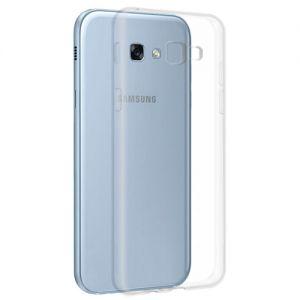 Чехол-накладка силиконовый для Samsung Galaxy A3 (2017) A320 (прозрачный 1.0мм)