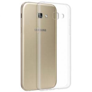 Чехол-накладка силиконовый для Samsung Galaxy A5 (2017) A520 (прозрачный 1.0мм)
