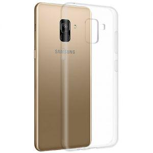 Чехол-накладка силиконовый для Samsung Galaxy A8+ (2018) A730 (прозрачный 1.0мм)