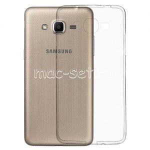 Чехол-накладка силиконовый для Samsung Galaxy J2 Prime G532 (прозрачный 0.5мм)
