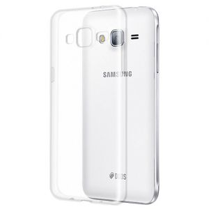 Чехол-накладка силиконовый для Samsung Galaxy J3 (2016) J320 (прозрачный 1.0мм)