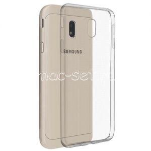 Чехол-накладка силиконовый для Samsung Galaxy J3 (2017) J330 (прозрачный 0.5мм)