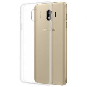 Чехол-накладка силиконовый для Samsung Galaxy J4 (2018) J400 (прозрачный 1.0мм)