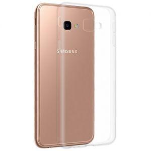 Чехол-накладка силиконовый для Samsung Galaxy J4+ J415 (прозрачный 1.0мм)