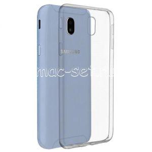 Чехол-накладка силиконовый для Samsung Galaxy J5 (2017) J530 (прозрачный 0.5мм)