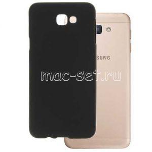 Чехол-накладка силиконовый для Samsung Galaxy J5 Prime G570 (черный 0.8мм)