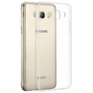 Чехол-накладка силиконовый для Samsung Galaxy J7 (2016) J710 (прозрачный 1.0мм)