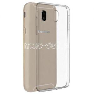 Чехол-накладка силиконовый для Samsung Galaxy J7 (2017) J730 (прозрачный 0.5мм)