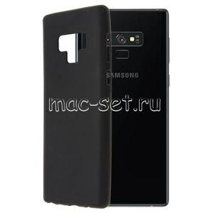 Чехол-накладка силиконовый для Samsung Galaxy Note 9 N960 (черный 0.8мм)