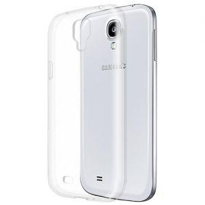 Чехол-накладка силиконовый для Samsung Galaxy S4 I9500 (прозрачный 1.0мм)