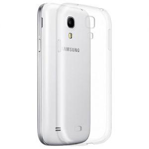 Чехол-накладка силиконовый для Samsung Galaxy S4 mini I9190 / I9192 / I9195 (прозрачный 1.0мм)