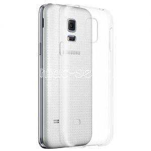 Чехол-накладка силиконовый для Samsung Galaxy S5 mini G800 (прозрачный 0.5мм)