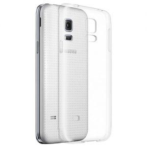 Чехол-накладка силиконовый для Samsung Galaxy S5 mini G800 (прозрачный 1.0мм)