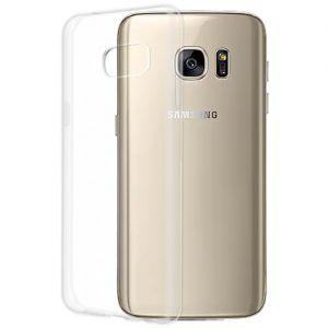 Чехол-накладка силиконовый для Samsung Galaxy S7 G930 (прозрачный 1.0мм)