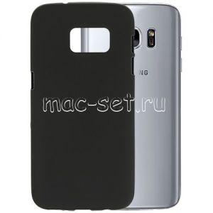 Чехол-накладка силиконовый для Samsung Galaxy S7 G930 (черный 0.8мм)