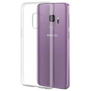 Чехол-накладка силиконовый для Samsung Galaxy S9 G960 (прозрачный) iBox Crystal
