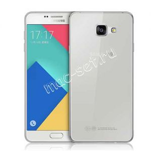 Чехол-накладка силиконовый для Samsung Galaxy A3 (2016) A310 (прозрачный 0.5мм)
