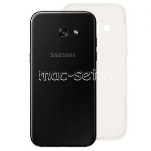 Чехол-накладка силиконовый для Samsung Galaxy A5 (2017) A520 [толщина 0.3 мм] (прозрачный)