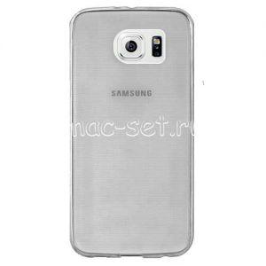 Чехол-накладка силиконовый для Samsung Galaxy S6 G920F (серый 0.5мм)