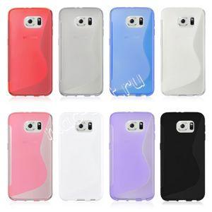 """Чехол-накладка силиконовый """"S-Line"""" для Samsung Galaxy S6 G920F"""
