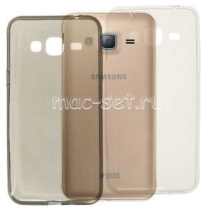 Чехол-накладка силиконовый для Samsung Galaxy J3 (2016) J320 ультратонкий