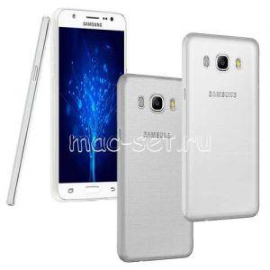 Чехол-накладка силиконовый для Samsung Galaxy J5 (2016) J510 ультратонкий