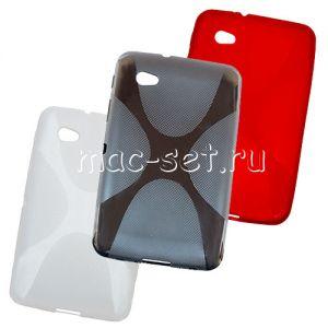 "Чехол-накладка силиконовый ""X-Line"" для Samsung Galaxy Tab 2 7.0 P3100"