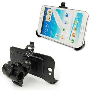 Велодержатель для Samsung Galaxy Note 2 N7100 на руль (черный)