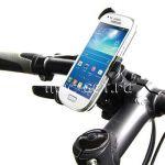 Велодержатель для Samsung Galaxy S4 mini I9190 / I9192 / I9195 на руль (черный)