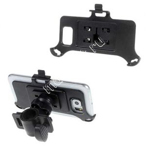 Велодержатель для Samsung Galaxy S6 G920 / S6 edge G925 на руль (черный)
