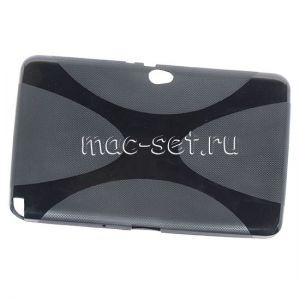 Чехол-накладка силиконовый для Samsung Galaxy Note 10.1 N8000 (черный)