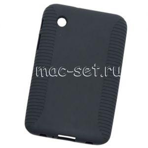 Чехол-накладка силиконовый для Samsung Galaxy Tab 2 7.0 P3100 (черный)