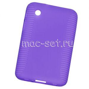 Чехол-накладка силиконовый для Samsung Galaxy Tab 2 7.0 P3100 (фиолетовый)