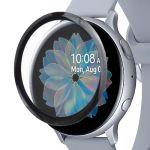 Защитная пленка 3D для Samsung Galaxy Watch Active2 44мм R820 [на весь экран] Red Line (прозрачная с черной рамкой)