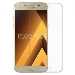 Защитное стекло 3D для Samsung Galaxy A5 (2017) A520 [изогнутое на весь экран] Aiwo (прозрачное)