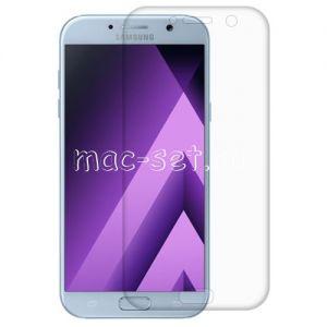 Защитное стекло 3D для Samsung Galaxy A7 (2017) A720 [изогнутое на весь экран] (прозрачное)