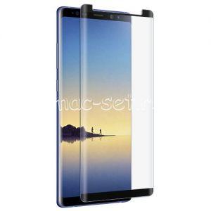 Защитное стекло 3D для Samsung Galaxy Note 8 N950 [изогнутое на весь экран] (черное)