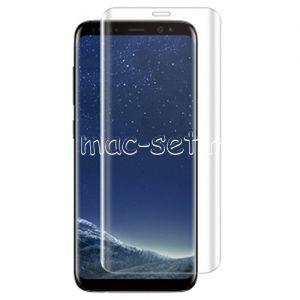 Защитное стекло 3D для Samsung Galaxy S8+ G955 [изогнутое на весь экран] (прозрачное)