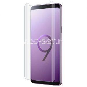 Защитное стекло 3D для Samsung Galaxy S9 G960 [изогнутое] (прозрачное)