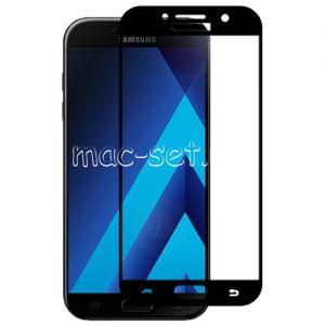 Защитное стекло для Samsung Galaxy A5 (2017) A520 [на весь экран] Red Line (черное)