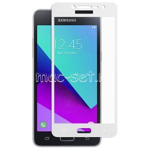 Защитное стекло для Samsung Galaxy J2 Prime G532 [на весь экран] (белое)