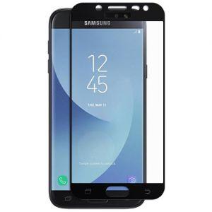 Защитное стекло для Samsung Galaxy J5 (2017) J530 [на весь экран] (черное)