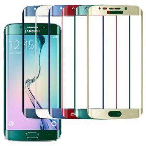 """Защитное стекло 3D для Samsung Galaxy S6 edge G925F """"Премиум"""" [изогнутое на весь экран]"""