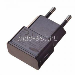Сетевое зарядное устройство 1xUSB 1000mA для Samsung (черное)