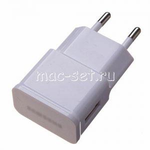 Сетевое зарядное устройство 1xUSB 2000mA для Samsung (белое)